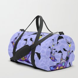 Shark MarineLife Scenery Patterned Duffle Bag