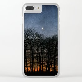 The Sliver Moon Clear iPhone Case
