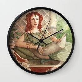 Cornelia - A Compendium of Witches Wall Clock