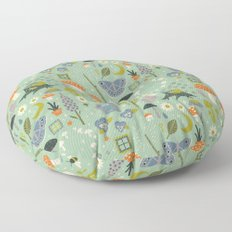 Fairy Garden Floor Pillow