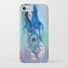 Peafowl Flow iPhone 7 Slim Case
