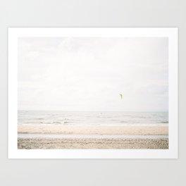 De Haan Beach Art Print