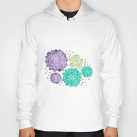 succulents Hoodies featuring The Succulents by haidishabrina
