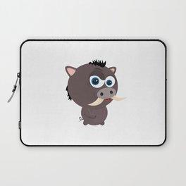 Cartoon Boar Laptop Sleeve