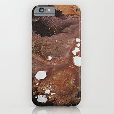 Copper abstract liquidity. iPhone 6s Slim Case