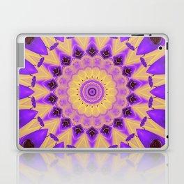 Bold Purple and Yellow Mandala Laptop & iPad Skin