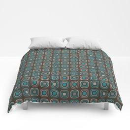 Pattern blue azul 6 Comforters