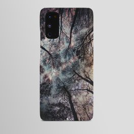 Starry Sky in the Forest Android Case