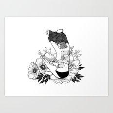 I'm not mad, I'm hurt Art Print
