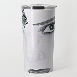 Raven Beauty Travel Mug