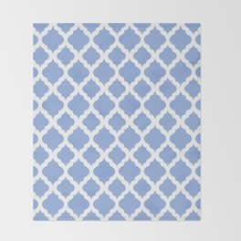 Blue rombs Throw Blanket