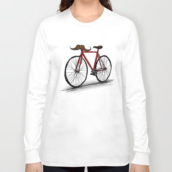 Baffi Bici Long Sleeve T-shirt