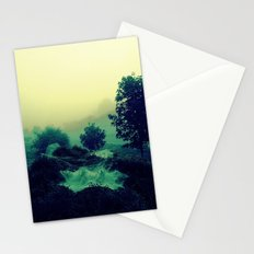 Dewey, misty morning Stationery Cards