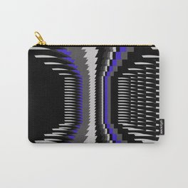 Interesting Unbalanced Stripes Carry-All Pouch