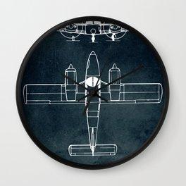 Piper PA-24 SENECA - 1967 Wall Clock