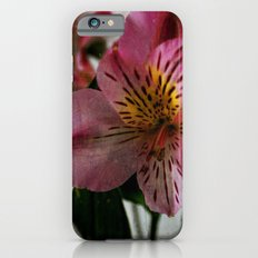Textured Lily of the Incas Slim Case iPhone 6s