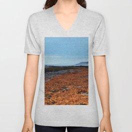 Seaweed Beach Unisex V-Neck
