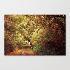 Autumn Weavers Canvas Print