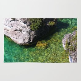 Kayaking In The Bruce Peninsula Rug