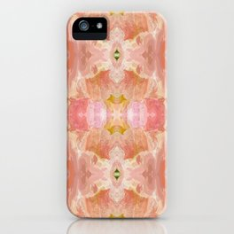 151 - abstract floral pattern iPhone Case