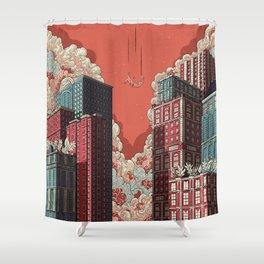 Dream - Free Fall Shower Curtain