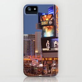Las Vegas moon iPhone Case