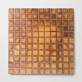 Toaster Waffle Pop Art: Extra Crispy, No Syrup Metal Print