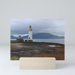 Rubha nan gall Lighthouse, Isle of Mull, Scotland Mini Art Print