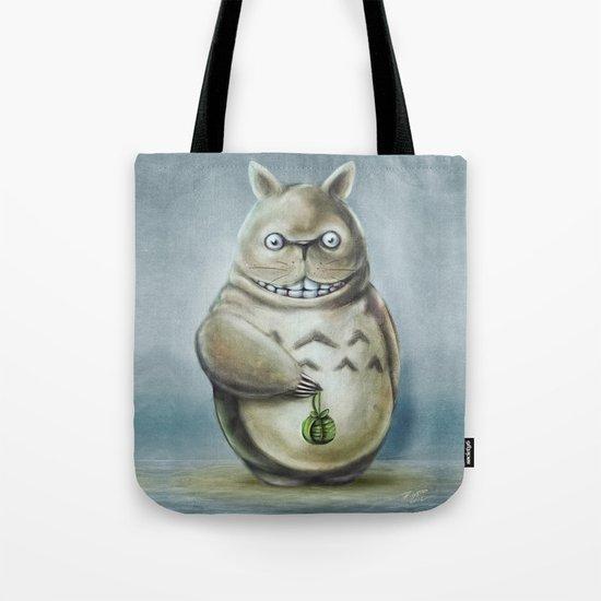 Miyazaki's Totoro - Totoros communis domestica Tote Bag