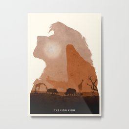 The Lion King Metal Print
