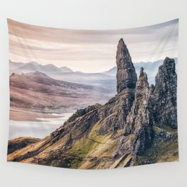 Old Man of Storr, Isle of Skye, Scotland Wall Tapestry