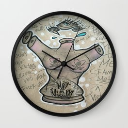 Objectified Part Two Wall Clock