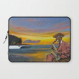Haitian Sax Laptop Sleeve
