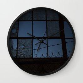 Thwart Wall Clock