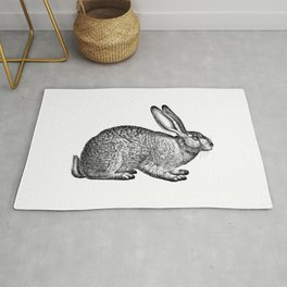 Rabbit Hare Rug