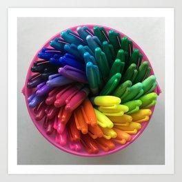 Color Balance Art Print