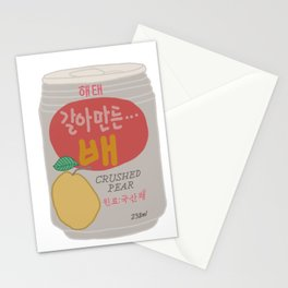 Pear Drink Stationery Cards