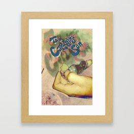 Smoke em' Framed Art Print