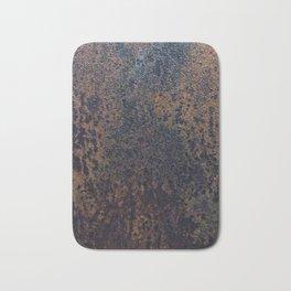 Rusting steel texture Bath Mat