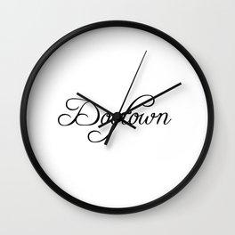 Dogtown Wall Clock