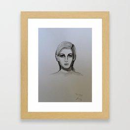 Twiggy! Framed Art Print