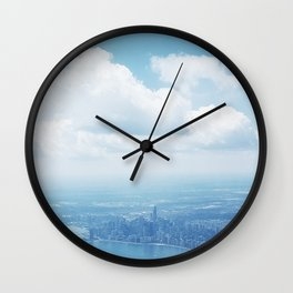 chicago from above Wall Clock