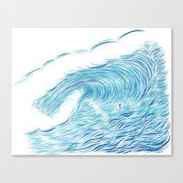 INFINITE ENDLESS TUBE Canvas Print