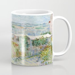 Vegetable Gardens at Montmartre by Vincent van Gogh Coffee Mug