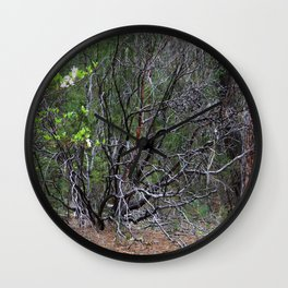 Life from within Mother Earth.... Wall Clock