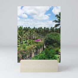 Sri Lankan Gardens Mini Art Print