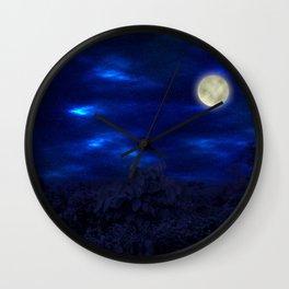 Boga Lake, Bandarban || Bangladesh (Moonlight) Wall Clock