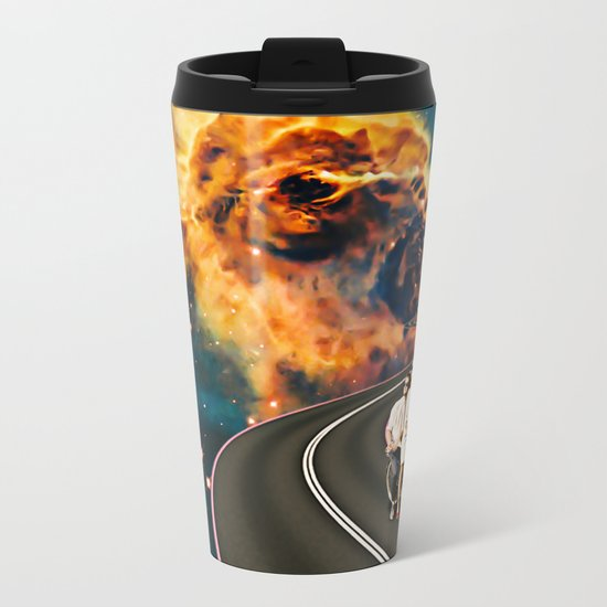 Love Big Bang Metal Travel Mug