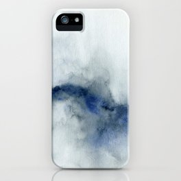 Indigo Abstract Painting | No.3 iPhone Case