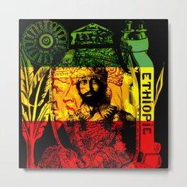 Haile Selassie Lion of Judah Metal Print